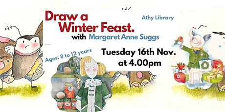 Winter Feast Illustration with Margaret Anne Suggs tickets