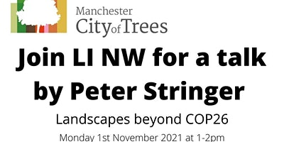 LI NW talk by Peter  Stringer from Manchester City of Trees