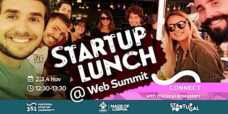 Startup Lunch @ Web Summit tickets