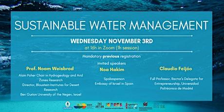 Una gestión sostenible del Agua entradas