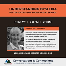 Understanding Dyslexia - Better Success for your Child at School tickets
