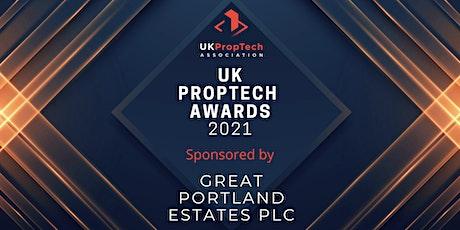 UK PropTech Awards 2021 tickets