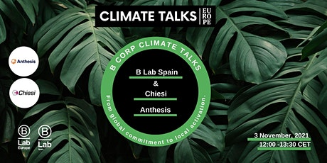 Climate Talk. From global commitment to local activation. tickets