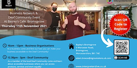Sign Solutions - Business Network and Deaf Community Event tickets