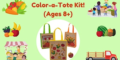 Color-a-Tote Kit!  (Ages 8+)