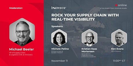 Rock your Supply Chain with Real-Time Visibility tickets