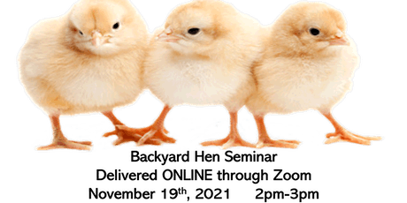 Backyard Hen Training tickets