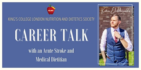 CAREER TALK Acute Medical Dietitian, Band 5 and BDA student rep experience tickets