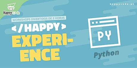 HAPPY EXPERIENCE -  PYTHON INTRO(Happy Code Presencial C. Ourique) tickets