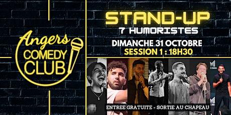 Angers Comedy Club - Dimanche 31 Octobre / Session 1/ Les P'tites Folies billets