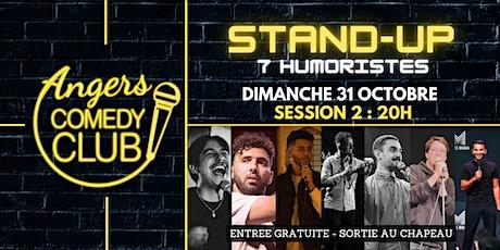 Angers Comedy Club - Dimanche 31 Octobre / Session 2 / Les P'tites Folies billets