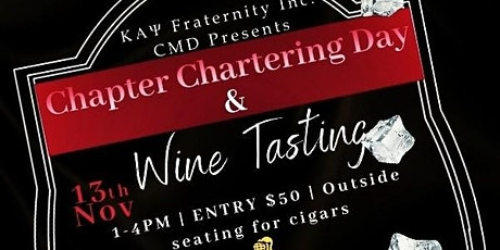 Kappa Alpha Psi Columbia (MD) 47th Chapter Anniversary and Wine Tasting tickets