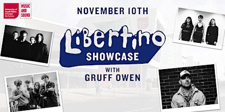 USW Libertino Records Showcase with Gruff Owen & Artists LIVE STREAM tickets