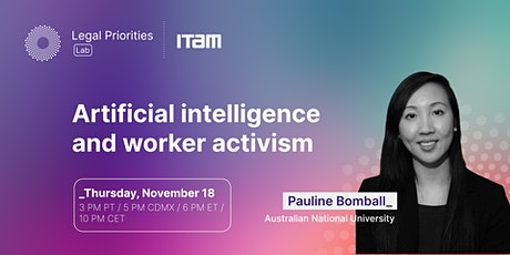 Pauline Bomball: Artificial intelligence and worker activism tickets