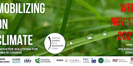 Mobilizing on Climate Change (Cross B-School Alumni Event) Tickets