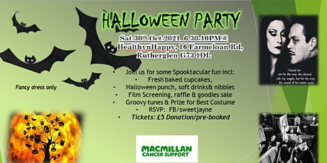 Halloween Party for Macmillan tickets