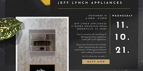 Jeff Lynch Appliances Grand Reveal for Monogram's Newest Kitchen tickets