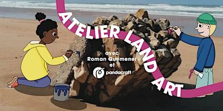 Land Art avec Romain Quéméner X Pandacraft tickets