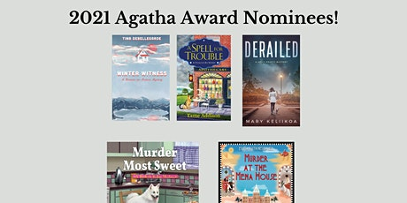 Online Panel Discussion with all 5 2021 Agatha Award Nominees For Best Firs tickets