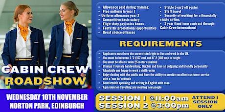 Ryanair Cabin Crew Recruitment Roadshow -  Edinburgh tickets