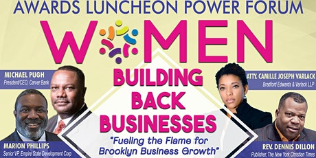 Women Building Back Businesses tickets