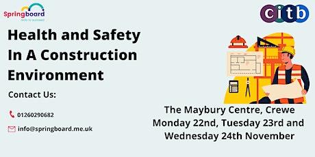 Construction Skills Certificate Scheme tickets