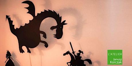Master Class : ateliers d'ombres pour les 8/11 ans billets