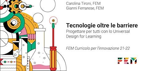 Oltre le barriere : Progettare con lo Universal Design for Learning biglietti