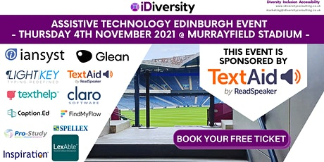 iDiversity & Iansyst Assistive Technology Event in Edinburgh tickets