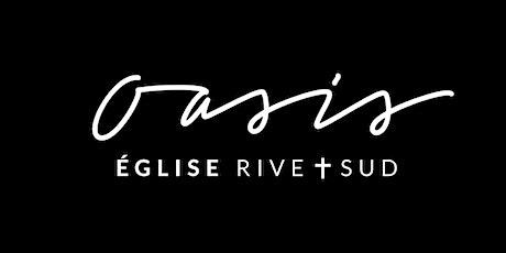 Réunion du Dimanche 14 Novembre - Oasis Église Rive-Sud tickets