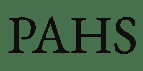 PAHS Post-Symposium Workshop IN-PERSON tickets