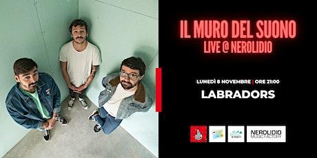 Il Muro del Suono Live @ Nerolidio | On Stage: Labradors biglietti