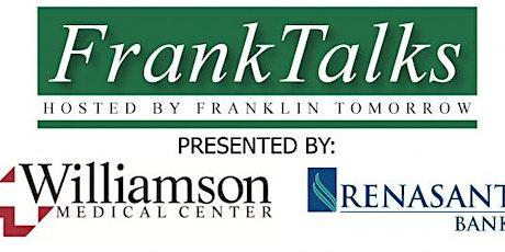 Nov. 8 FrankTalks: City Hall on Wheels tickets