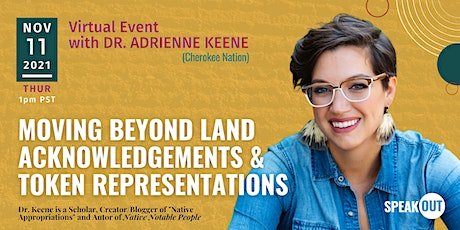 Moving Beyond Land Acknowledgements & Token Representations tickets