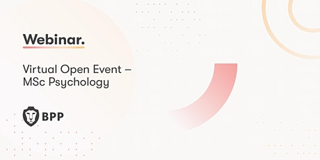 Virtual Open Event – MSc Psychology tickets