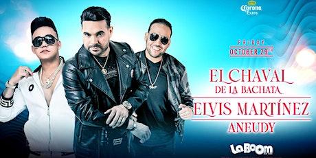 ELVIS MARTINEZ EL CHAVAL DE LA BACHATA Live Performance    La Boom NYC tickets