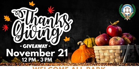 City of South Fulton Thanksgiving Food Giveaway 2021 tickets