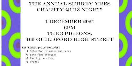 Surrey YRes Charity Quiz Night tickets