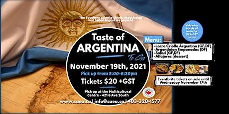Taste of Argentina To Go tickets