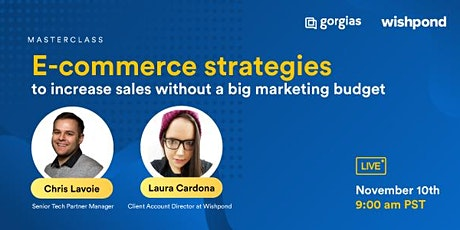 E-commerce strategies to get more sales without needing a big marketing bud tickets