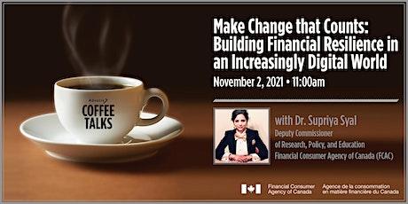 Advocis Coffee Talks: Make Change that Counts tickets