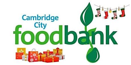 Cambridge City Food Bank Christmas Hampers 2021 tickets