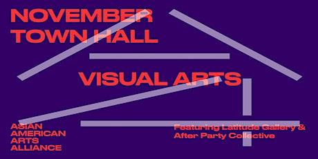 November Town Hall: Visual Arts tickets