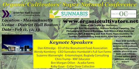 Organic Cultivators' Super Natural Conference tickets