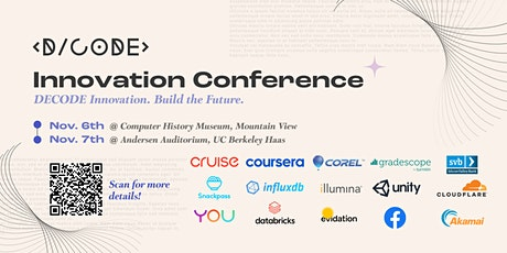 DECODE Innovation Conference 2021 tickets