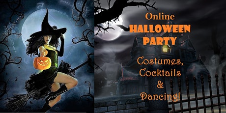 Online HALLOWEEN PARTY - Free on Zoom - Costumes, Cocktails & Dancing! tickets