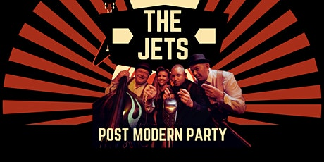 THE JETS - Postmodern party entradas
