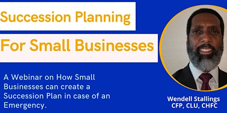Succession Planning For Small Business Webinar tickets