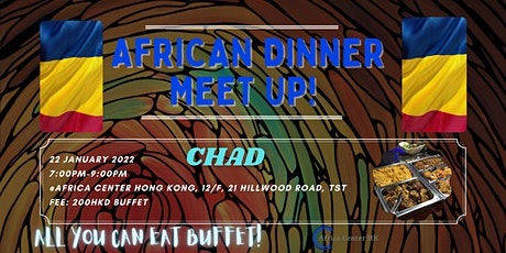 African Dinner Meetup (Chad Cuisine) tickets
