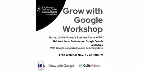 Grow with Google - Get Your Local Business on Google Search and Maps tickets